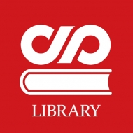 da LIBRARY noda english logo